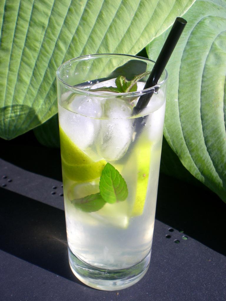 Ingefær-lemonade med lime…
