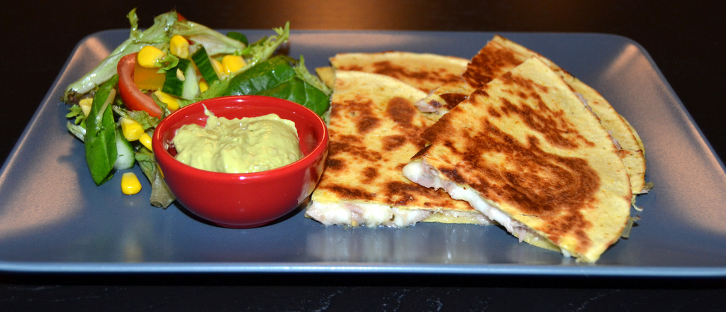 Corn quesadillas med tun…