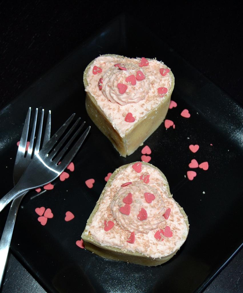 Nemme Valentins kager til Valentins dag…