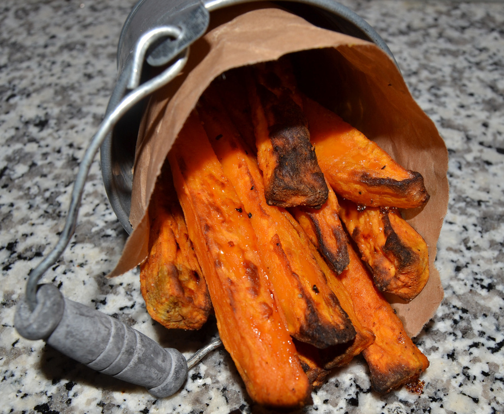 Sweet potato fries…
