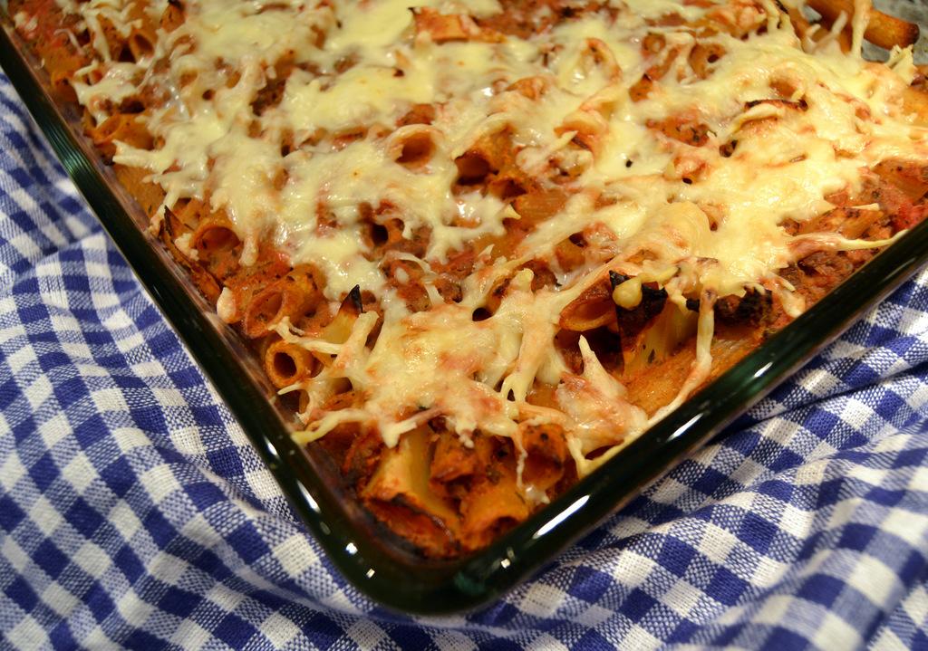 Ostegratineret pasta i ovn…