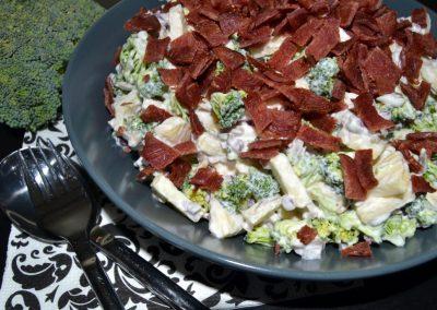Verdens bedste broccolisalat…