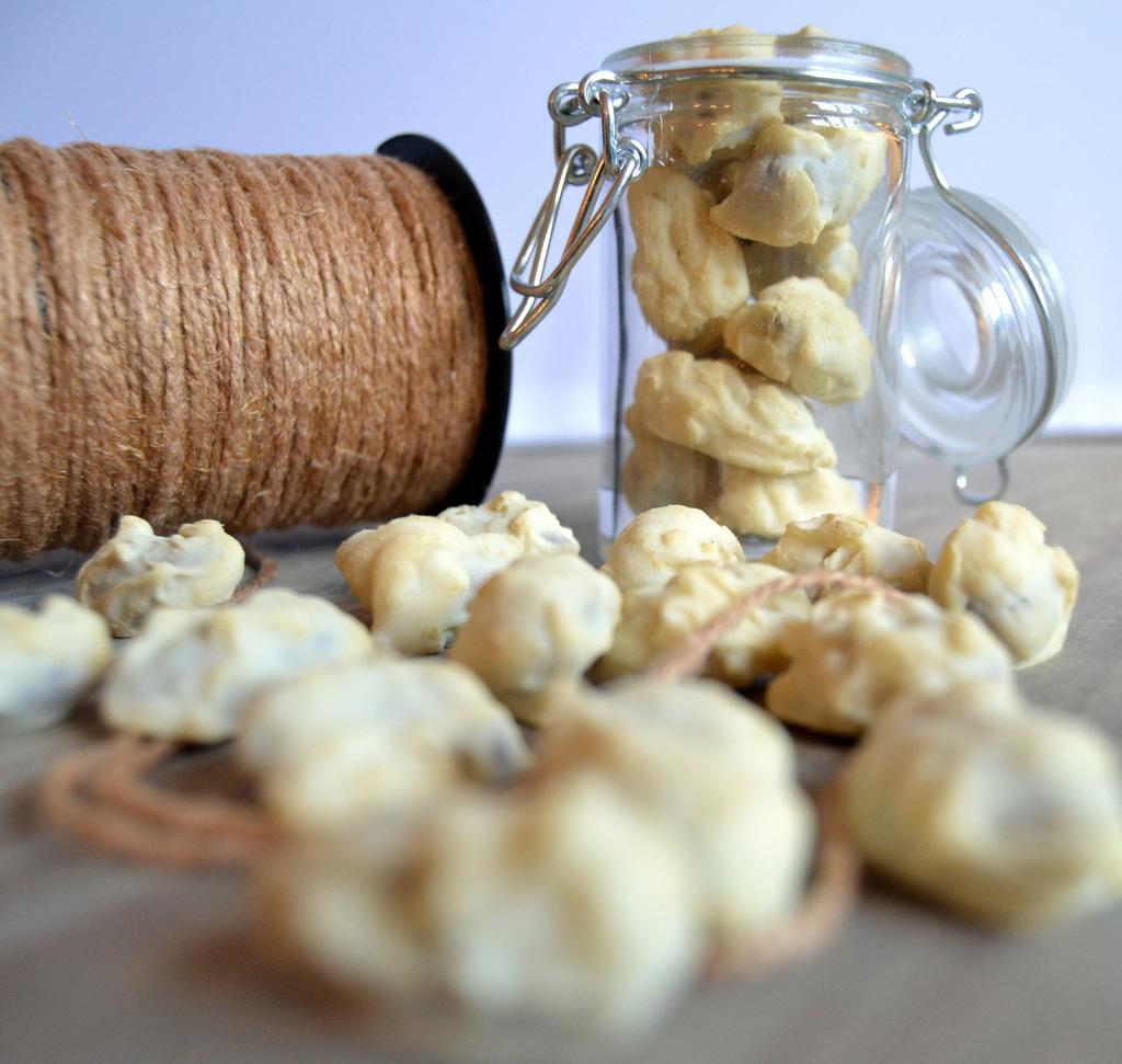 Lakridsmandler med hvid chokolade og citron…