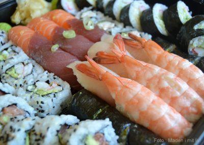 Anmeldelse af Just Eat – Sushi night…