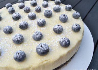 Cheesecake med oreobund og limemousse…