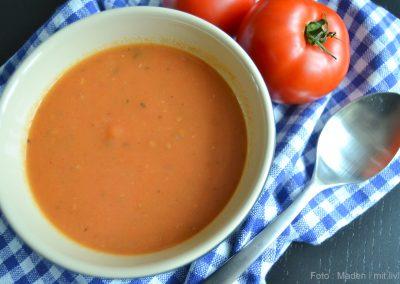 Tomatsuppe – varm og krydret på kolde dage…