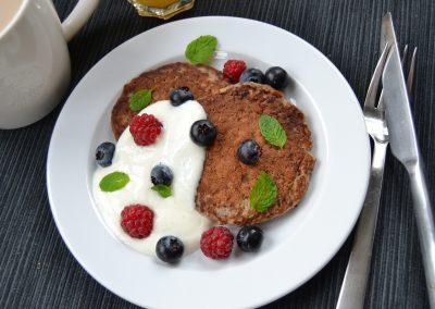 Sukkerfri bananpandekager til morgenmad og brunch…