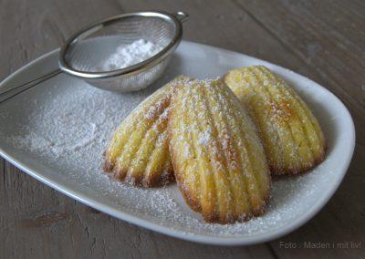 Madeleinekager med vanille og citron…