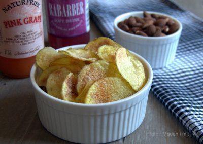 Hjemmelavede kartoffelchips – lynhurtige og lækre…