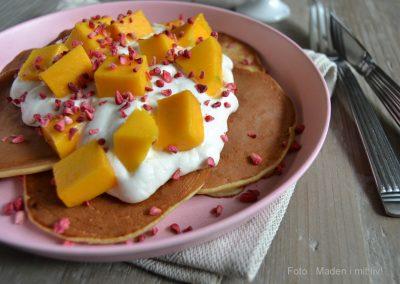 Skønne bananpandekager på kun 3 ingredienser…
