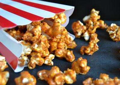 Fantastiske popcorn med salt-karamel…