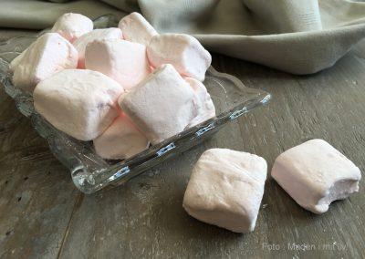 Hjemmelavede skumfiduser med hindbær…