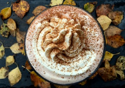 Varm og krydret pumpkin spice latte…