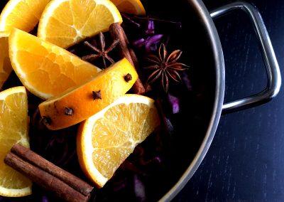 Hjemmelavet rødkål med appelsin…