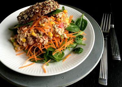 Tunsalat – nem og lækker opskrift…