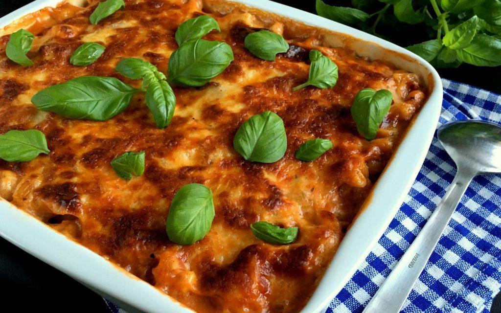 Hjemmelavet lasagnette med bechamelsauce…