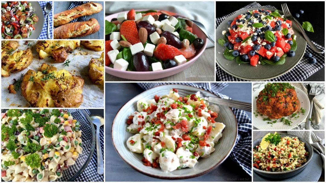 30 lækre salater og tilbehør til grillmad…