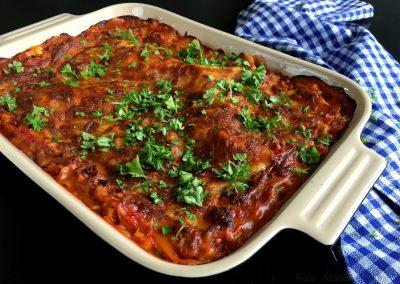 Lasagne med kylling og grønsager…