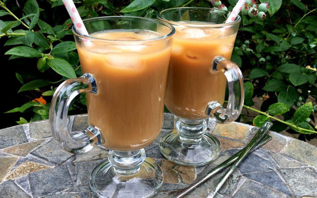 Lækker vietnamesisk iskaffe…