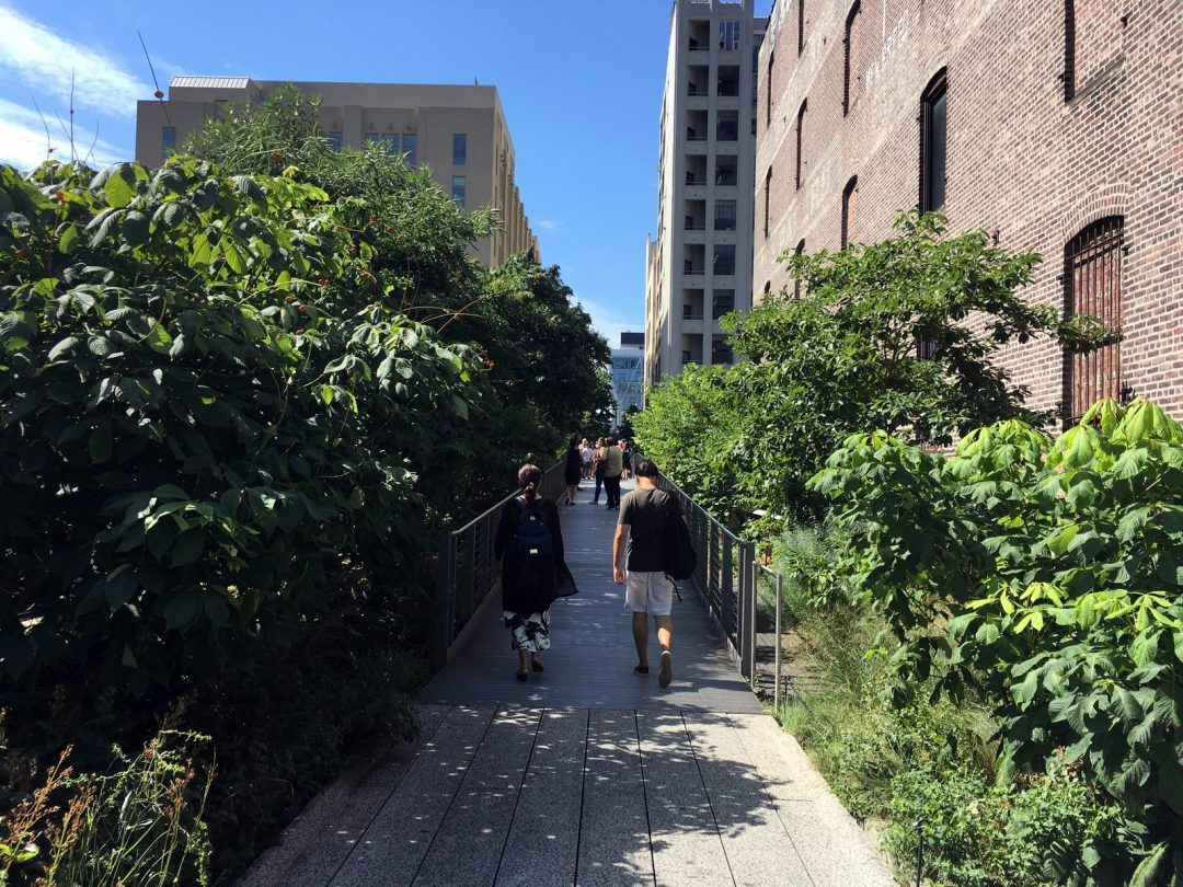 Sommerferie New York – High Line Park…