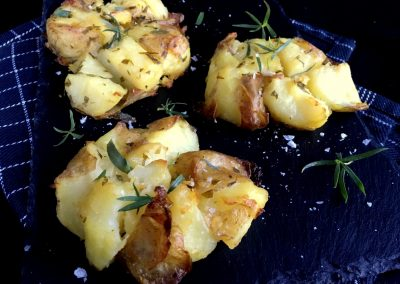 Knuste kartofler med bearnaisesmag…