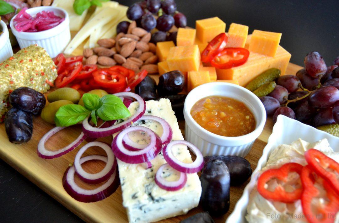 Anret et lækkert ostebord…