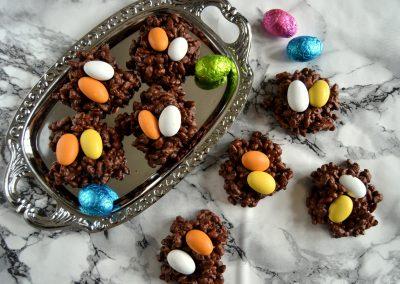 Sprøde chokolade-påskereder…