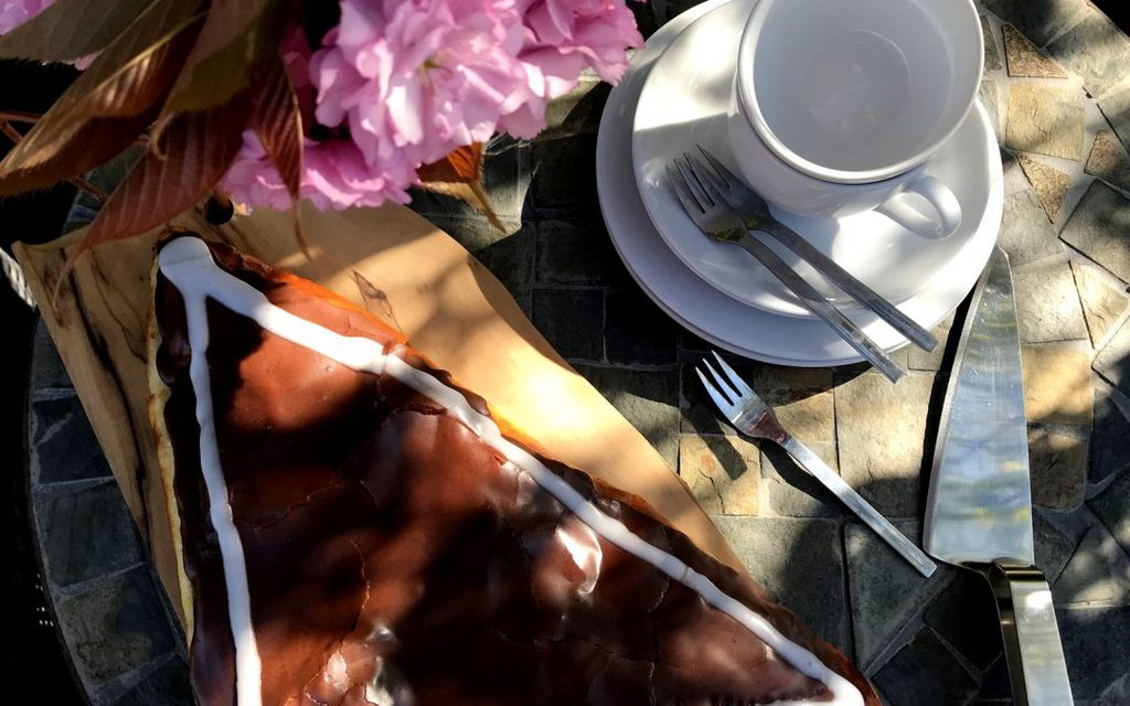 Hjemmelavet chokoladetrekant…