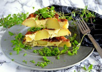 Spansk tortilla med kartofler…