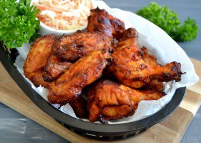 Hotwings – sprøde, krydrede kyllingevinger…